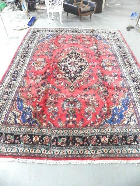 20: Persian Hamadan rug