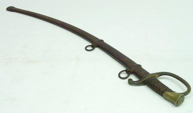 1040: American Civil War sword dated 1846