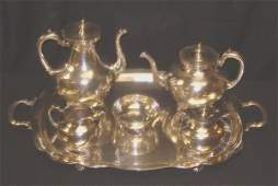 85 6 PC STERLING SILVER MEXICAN TEASET