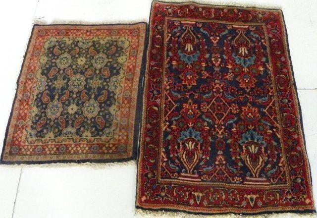 2: 2 Sarouk rugs