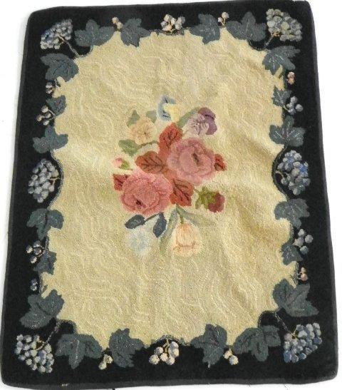 4: Hooked rug