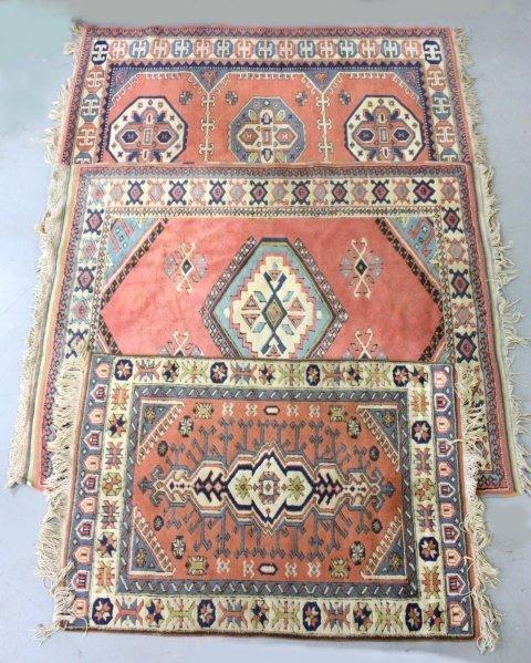 11: 3 Tribal rugs