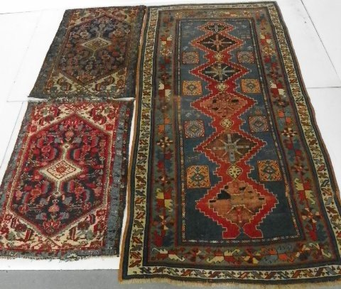 16: 3 Persian rugs