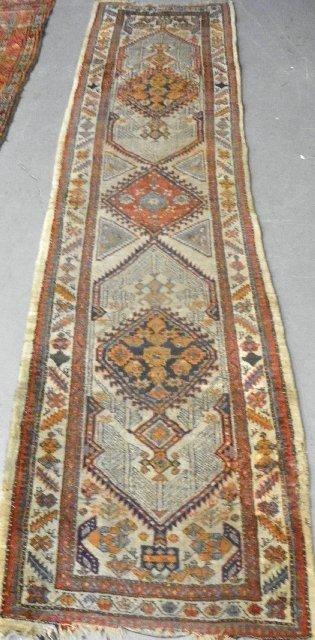 18: Antique Persian Serab rug