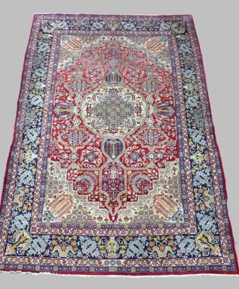 21: Oriental rug