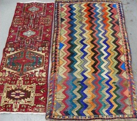 23: 2 Shiraz scatter rugs