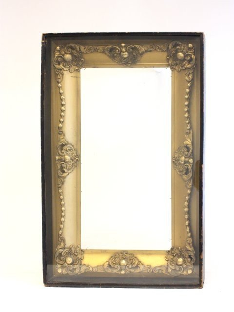 67: Gold leaf frame in shadow box