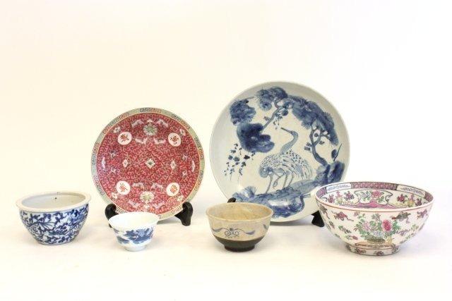 69: Group lot of porcelain