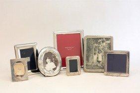7 Sterling Silver Frames