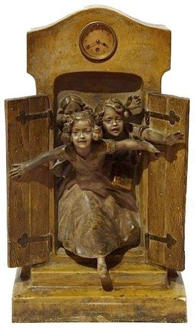 329: Goldscheider terracotta figural sculpture