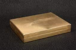 1016: 14kt gold compact Black Starr Frost & Gorham