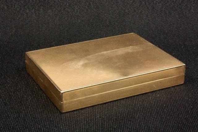14kt gold compact Black Starr Frost & Gorham