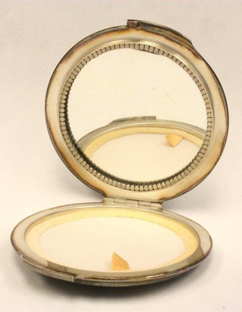 1023: George Jensen Denmark sterling compact - 2