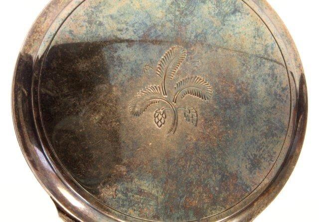 1023: George Jensen Denmark sterling compact - 3