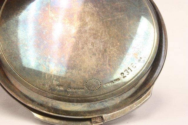 1023: George Jensen Denmark sterling compact - 4