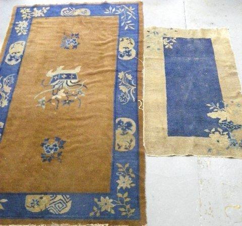 16: 2 Chinese rugs