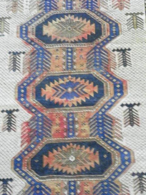 17: Antique Shirvan rug