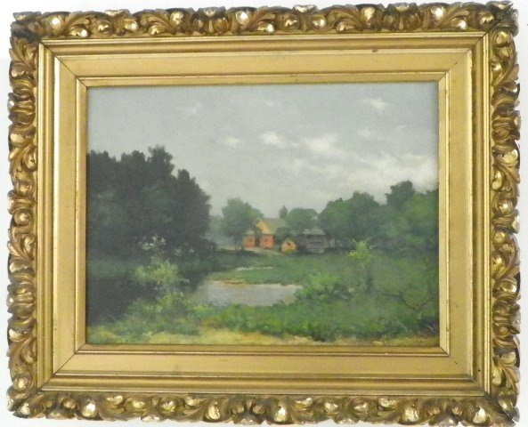 1292: 19/20th c. oil painting signed Amoroso ?