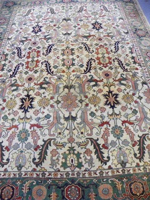 2: Handmade wool Heriz carpet