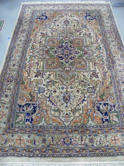3: Handmade wool Heriz carpet