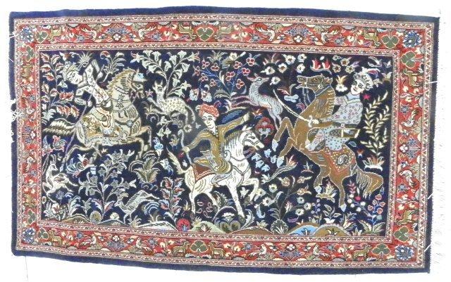 "4: Tabriz ""Hunting"" carpet"