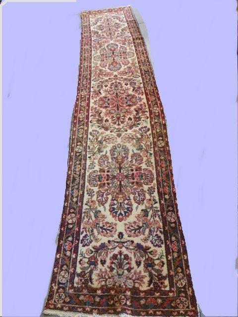 6: Old Persian Hamadan rug