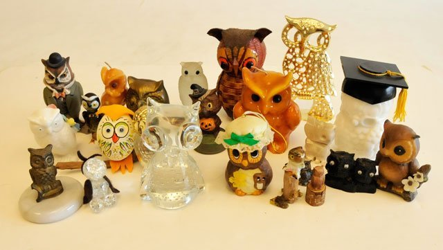 23: Owl collection