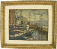 Oil painting signed Emile A. Gruppe