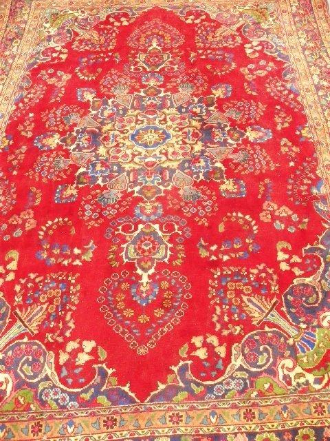 1: Mashad handmade Persian rug