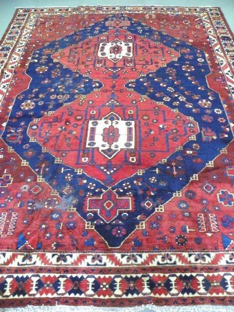 11: Persian Bakhtiari rug