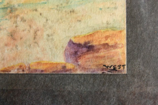 1207: 5 prototype watercolors for Tiffany Windows - 7