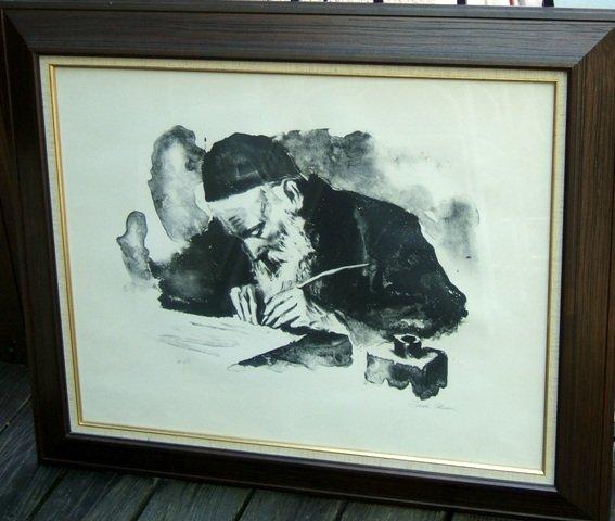 1249: Artist proof lithograph by Sandu Liberman