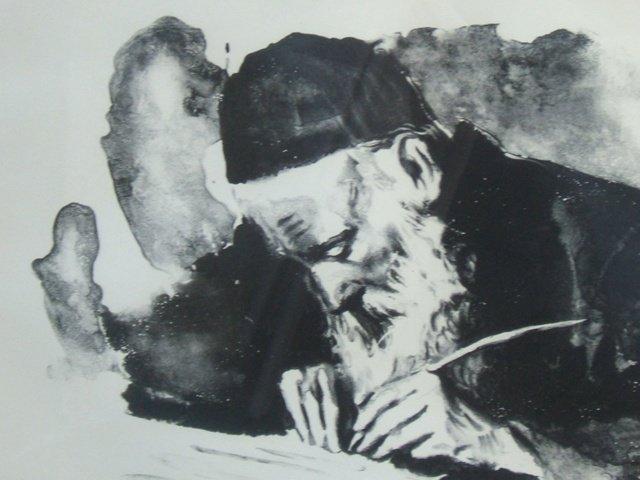 1249: Artist proof lithograph by Sandu Liberman - 3
