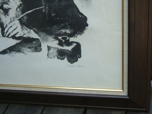 1249: Artist proof lithograph by Sandu Liberman - 4