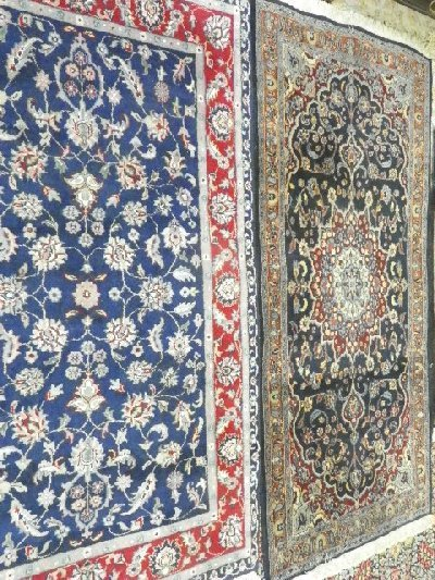 3: Lot of 4 rugs