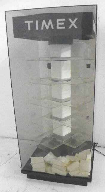 Timex display cabinet
