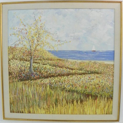 1253: Oil painting by Kenneth Kaye