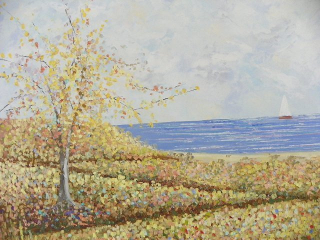 1253: Oil painting by Kenneth Kaye - 2