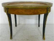 1444 Louis XV style inlaid coffee table