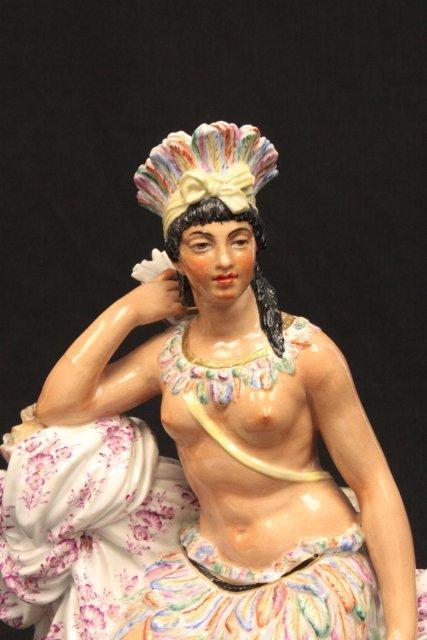 """1464: American """"Indian Queen Nude"""" - 2"""