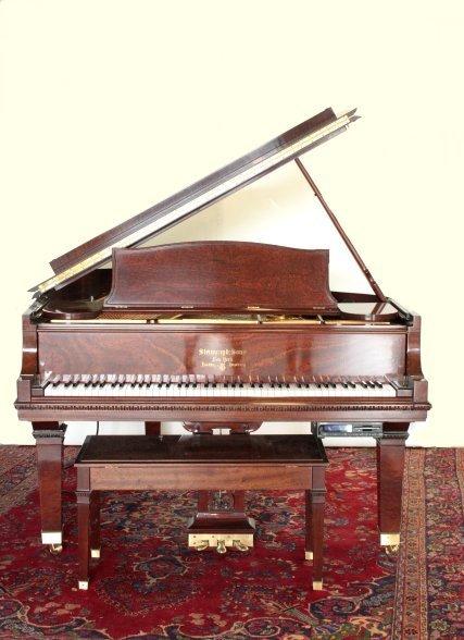 1151: Steinway player grand piano serial #540687