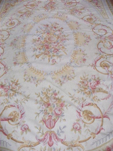 8: Aubusson rug