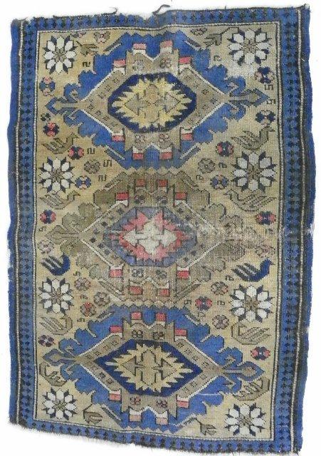 16: Turkish scatter rug