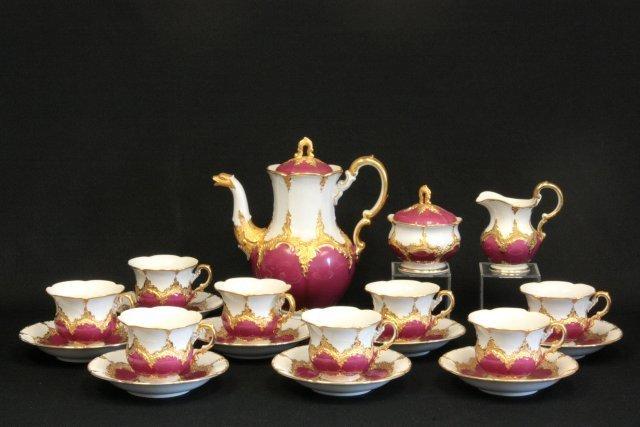 492: Meissen tea set