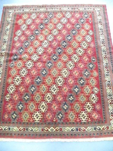 2: Red Caucasian rug