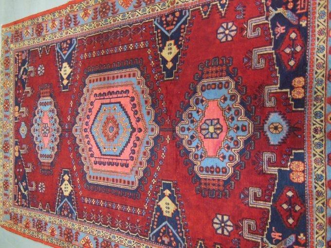 6: Red Persian rug ca. 1930-40's