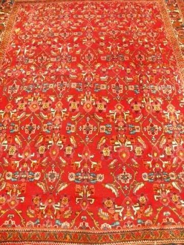 8X: Heriz handmade carpet