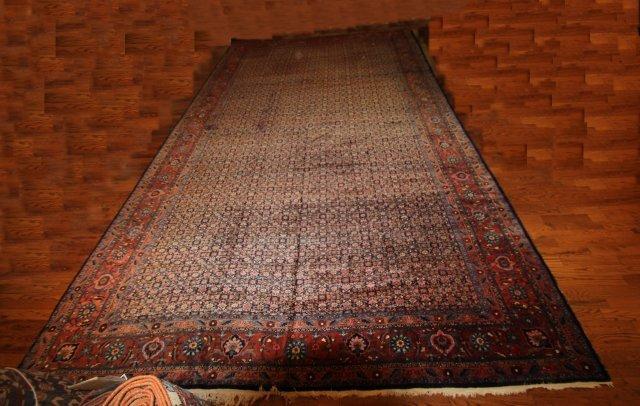 16: Antique Bidjar rug ca. 1910