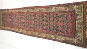 27 Hamadan Persian handmade rug ca 1920s