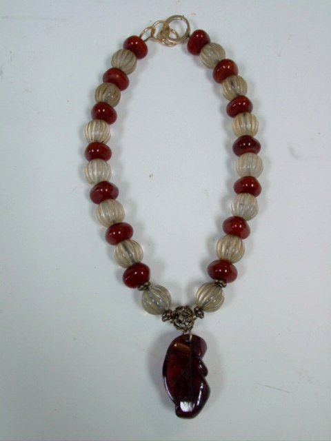 2006: Amber beaded Ruth Frank necklace